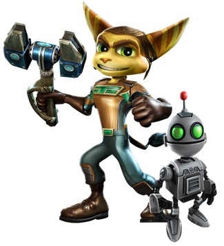 Ratchet clank, free PNG collection