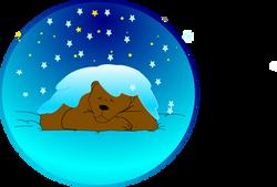 Anonymous_Sleeping_bear_under_the_snow