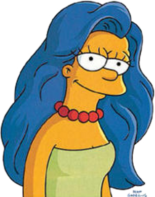 Marge Simpson PNG