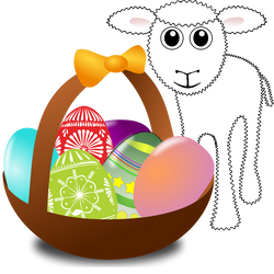 Sheep_003_Cartoon_Easter_Eggs