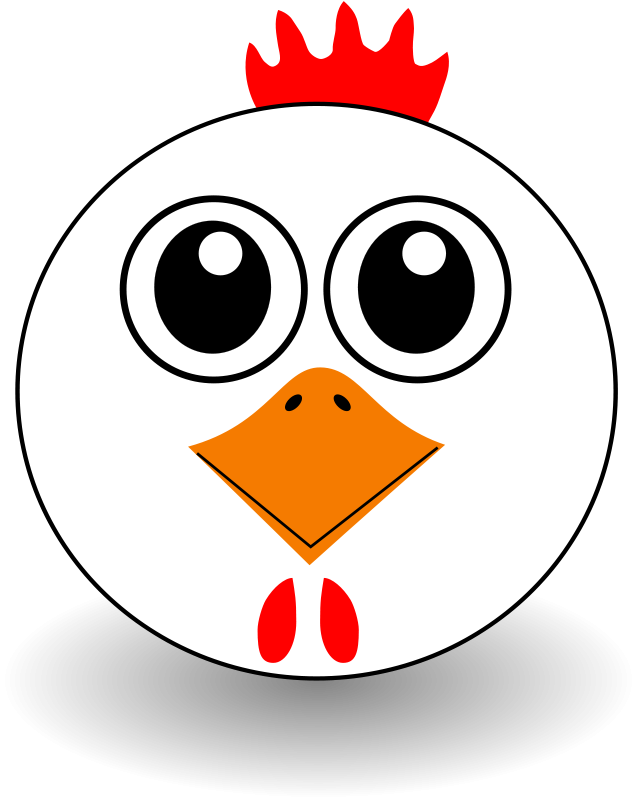 Chicken_001_Head_Cartoon