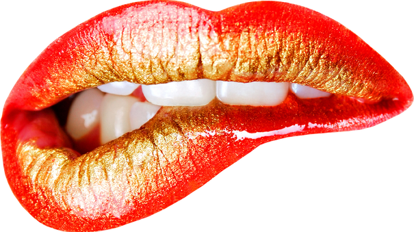Lip transparent images
