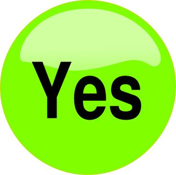 Yes free icon PNG
