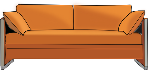 Couch free cutouts