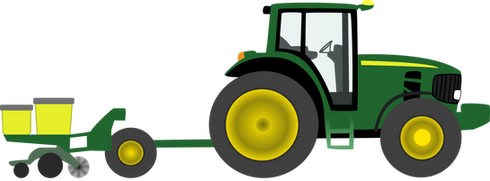Tractor, free PNGs