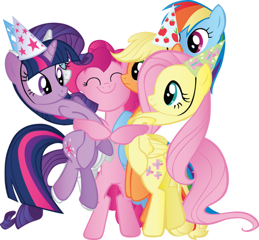 My little pony, free PNG collection