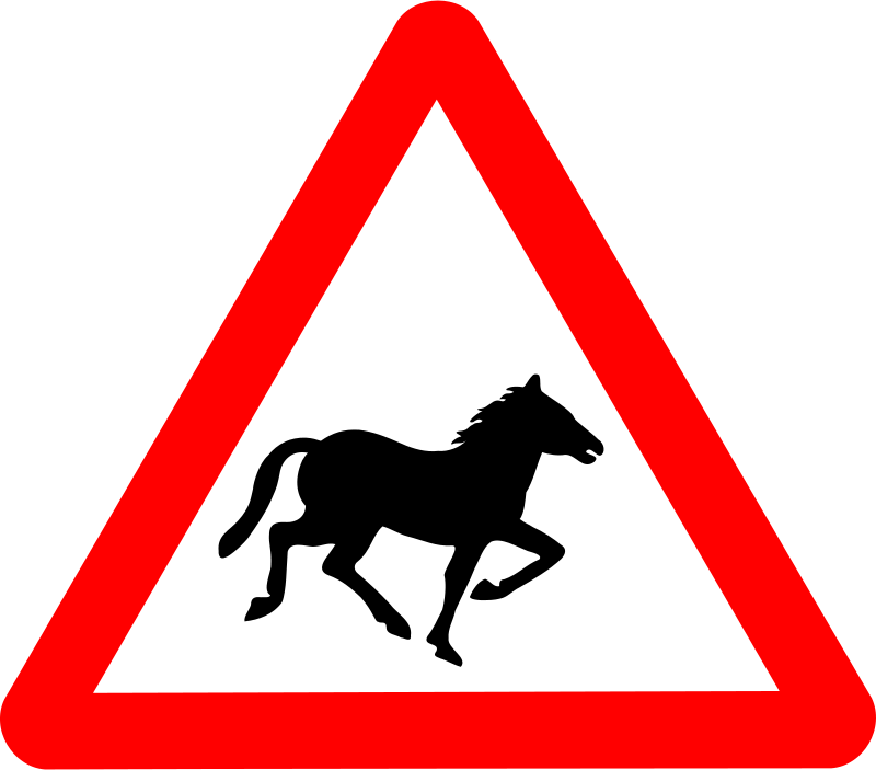 Anonymous_Roadsign_Horse