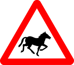 Anonymous_Roadsign_Horse