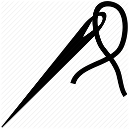 Sewing needle PNG