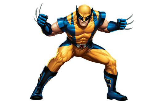 Wolverine, free cutout images
