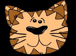 Gerald_G_Cartoon_Cat_Face