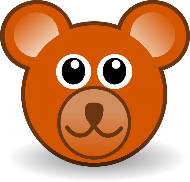 Bear_003_Head_Cartoon_Brown