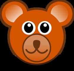 Bear_003_Head_Cartoon_Brown