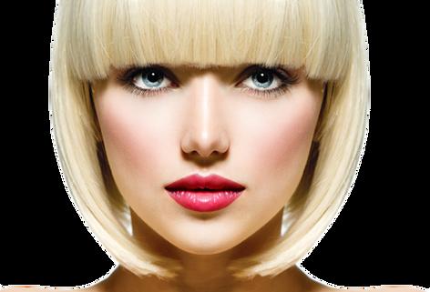 Face transparent images