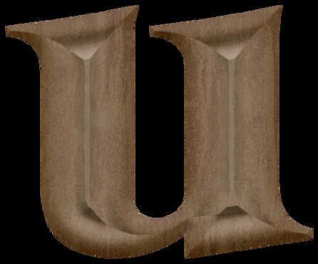 Letter U PNG