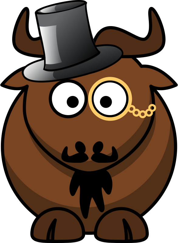 Cartoon_gnu_top_hat_mustache