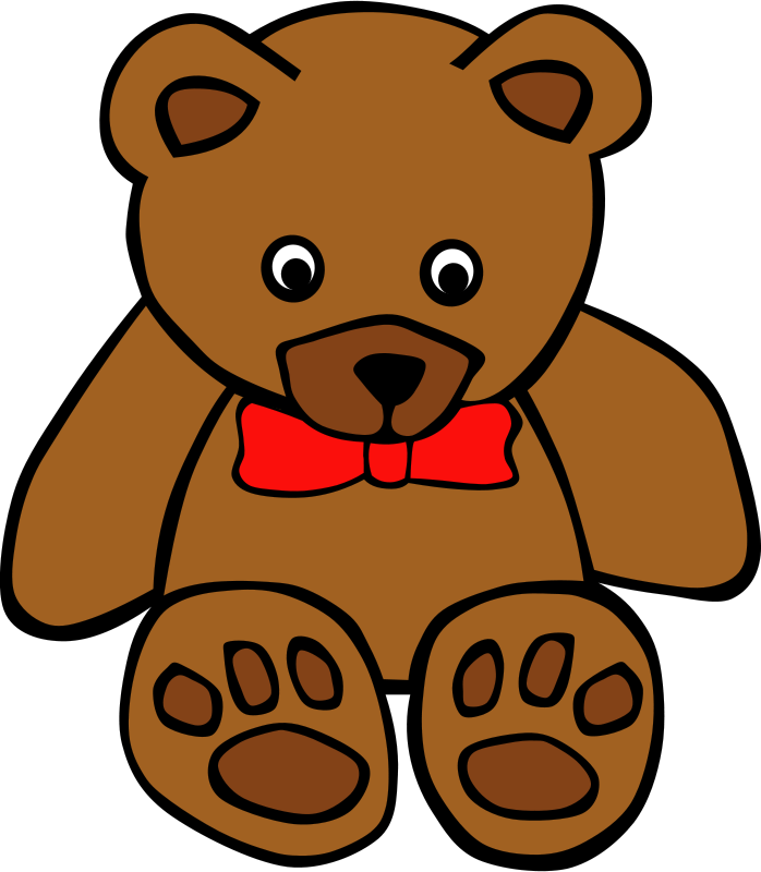 Gerald_G_Simple_Teddy_Bear_bow