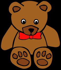 Gerald_G_Simple_Teddy_Bear_bow