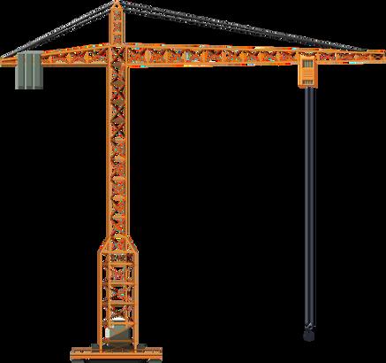Crane PNG cutouts