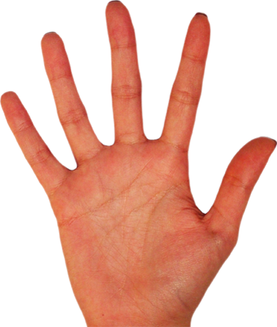 Hands transparent images