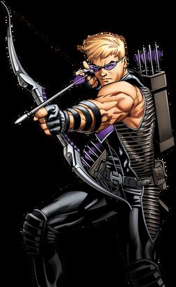 Hawkeye, free cutout images