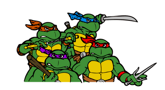 TMNT, free cutout images