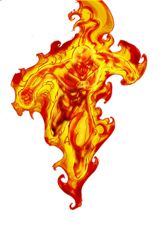Human torch, free cutout images