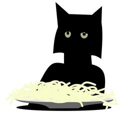 Spaghetti-cat