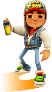 Subway surfer PNG