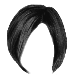 Hair transparent images