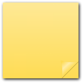 Sticky note PNG