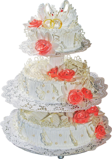 Wedding cake PNG