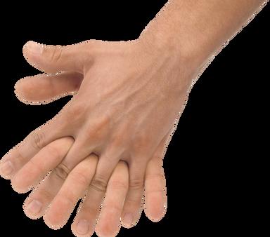 Hands transparent images