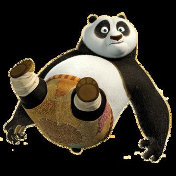 Kung fu panda, free PNG collection