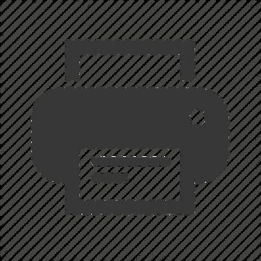 Printer free icon PNG
