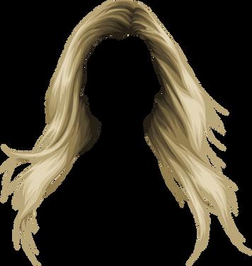 Hair transparent images