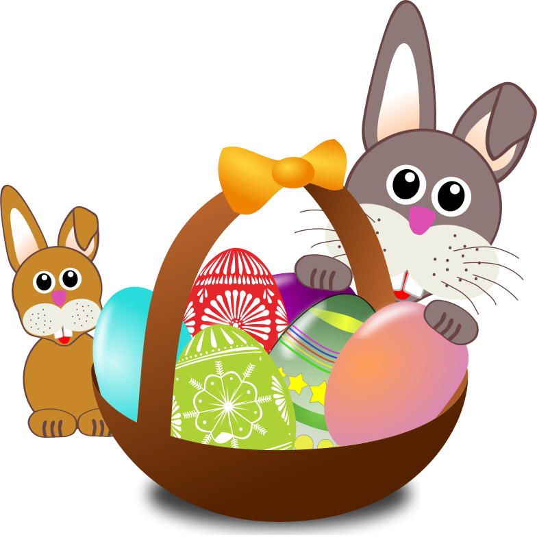 Rabbit_002_Face_Cartoon_Easter_w_Baby