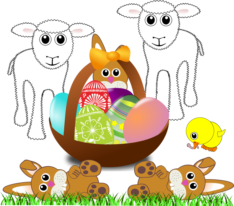 Sheep_004_Cartoon_Easter_Eggs