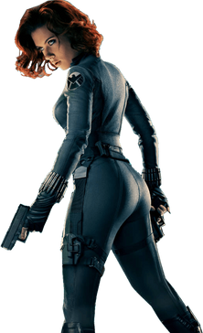 Black widow, free cutout images