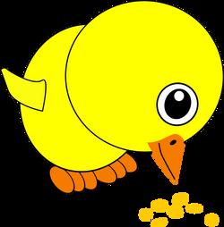 Chick_004_Eating_Bird_Seed_Cartoon