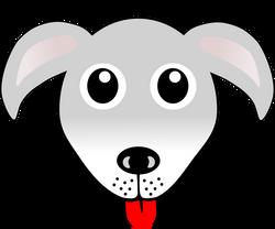 Dog_01_Face_Cartoon_Grey