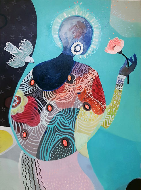 Ithemba (Optimism) by Leila Rose Fanner