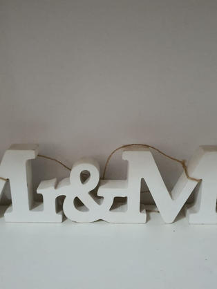 Mr & Mrs Letters Joined