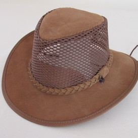Breezy Leather Hat