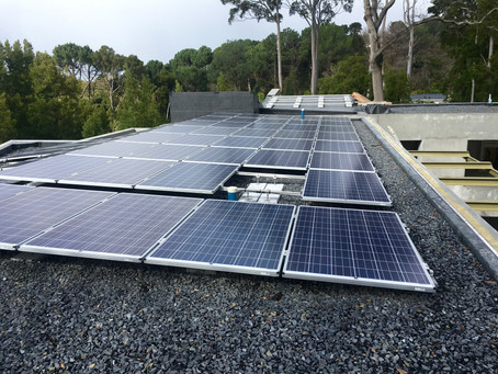 Ballasted EPDM Roofing Waterproofing System – Constantia, Cape Town