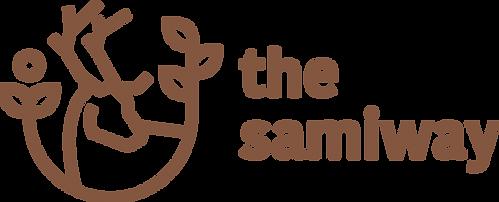TheSamiway liggende - brun - transparent bakgrunn.png