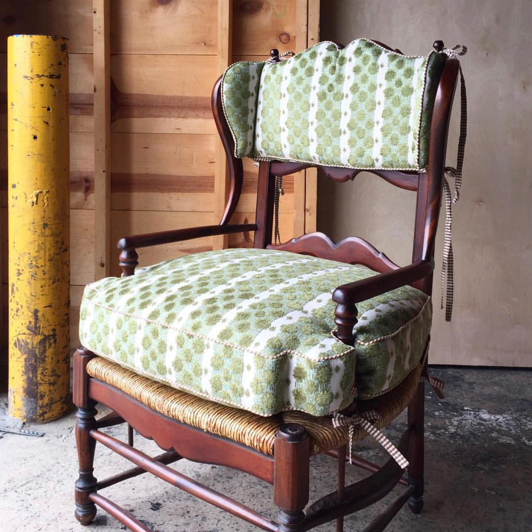 Custom Seat Cushions with Bjork Studio
