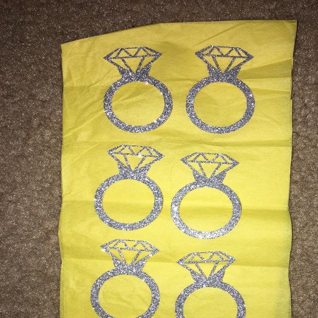 Diamond Ring Confetti - Large