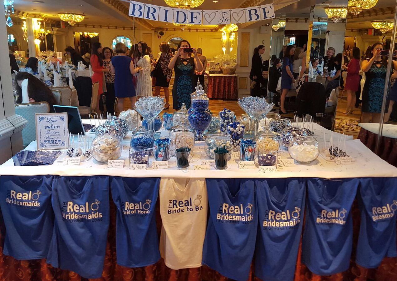 T-shirt Bridal Shower Decor