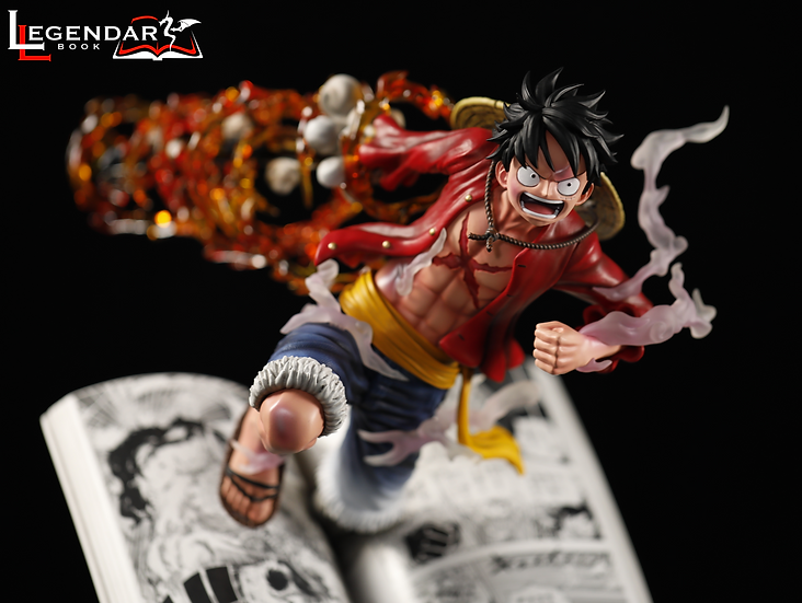【LEGENDARY BOOKS】 -  Luffy out from manga